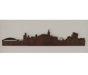Houten skyline Nijmegen