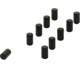 Neodymium magneten zwart (per stuk)